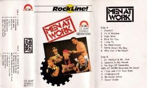 Menat Work English album Audio Cassette www.mossymart.com 1