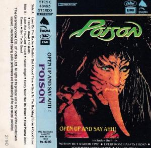 Poison English Album ( western music) www.mossymart.com 1