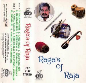 Raaga's of Raja Tamil Film Audio Cassette by Ilayaraaja www.mossymart.com 1