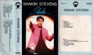 Shakin Stevens English album Audio Cassette www.mossymart.com 1