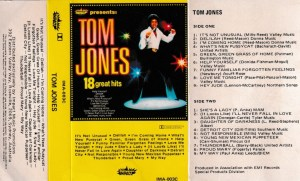 Tom Jones English album Audio Cassette www.mossymart.com 1