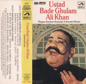 Ustad Bade Ghulam Ali Khan Hindi Film Audio Cassette www.mossymart.com 1