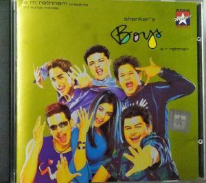 Boys Tamil Film Audio CD by AR Rahman www.mossymart.com 1