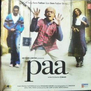 Paa Hindi Film Audio CD by Ilayaraaja www.mossymart.com 1