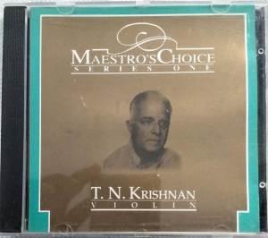 Carnatic Classical Instrument Violin by T N Krishnan Audio CD www.mossymart.com 2