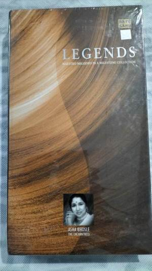 Legends Maestro Melodies in a Milestone Collection by Asha Bhosle Hindi film hits Audio CD www.mossymart.com 1