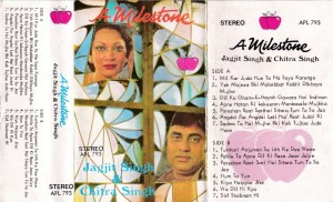A Milestone Jagijit Singh & Chitra Singh Hindi FIlm Audio Cassette www.mossymart.com 1