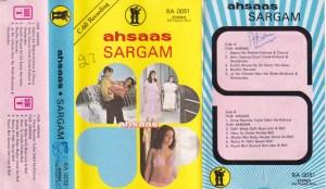 Ahsaas Sargam Hindi FIlm Audio Cassette www.mossymart.com 1