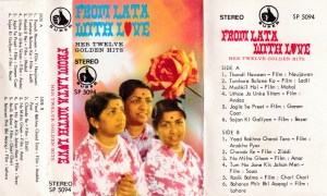 From Latha with Love Hindi FIlm hits Audio Cassette www.mossymart.com 1