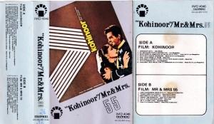 Kohinoor Mr. & Mrs Hindi FIlm Audio Cassette www.mossymart.com 1