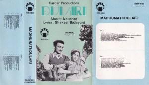 Madhumati- Dulari Hindi FIlm Audio Cassette www.mossymart.com 1