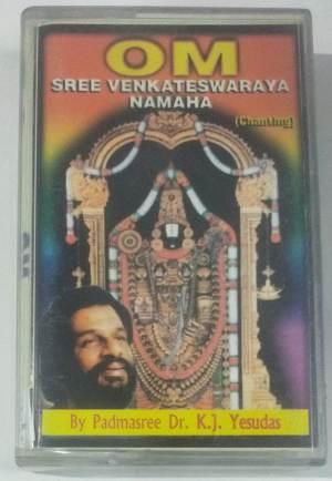 Om Sree Venkateswara Namaha Tamil Audio Cassette by K J Jesudoss www.mossymart.com1