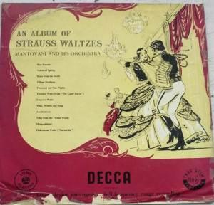 An Album of Strauss Waltzes English ALbum LP Vinyl Record www.mossymart.com 1