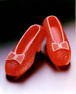 Most expensive women's shoes - Harry Winston's Ruby Slippers