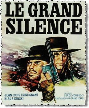 The Great Silence Spaghetti Western Film