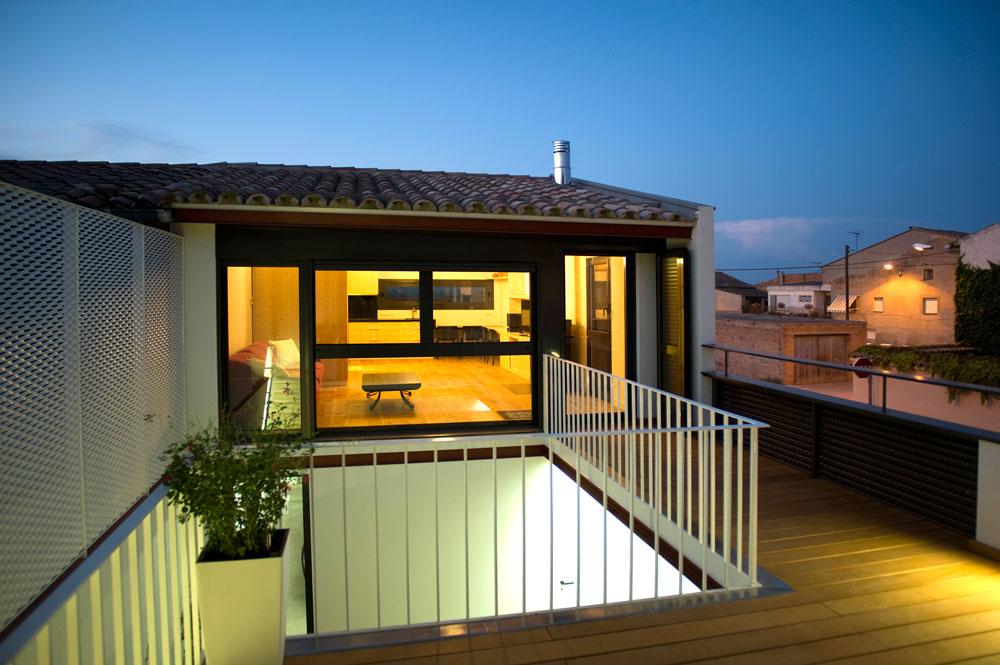 El Poal - Exterior, terrassa