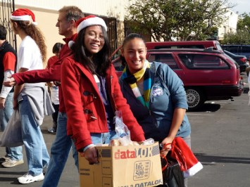 2008 One Voice Holiday Volunteer Drive