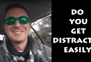 avoid distractions