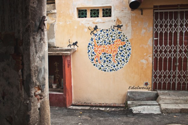 Street art in Georgetown (Penang, Malaysia)