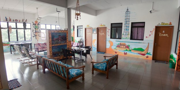 Old Town Guesthouse in Malacca (Melaka), Malaysia
