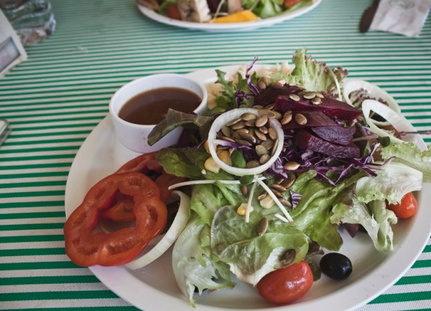Vegan salads from Salad Concept Restaurant in Chiang Mai, Thailand