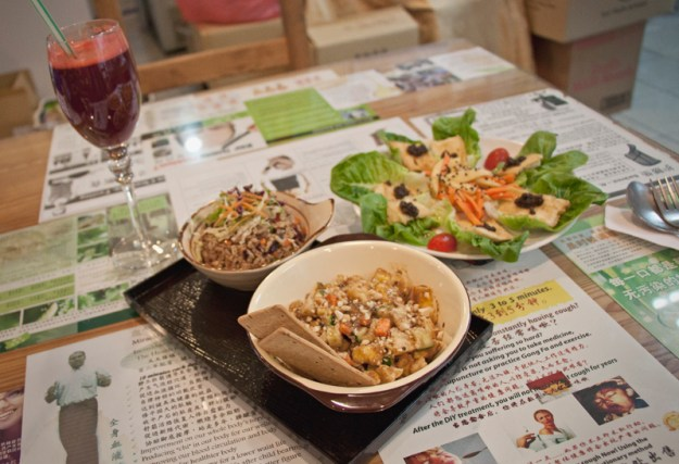 Vegan and vegetarian food guide Kuala Lumpur - De Health Paradise Organic