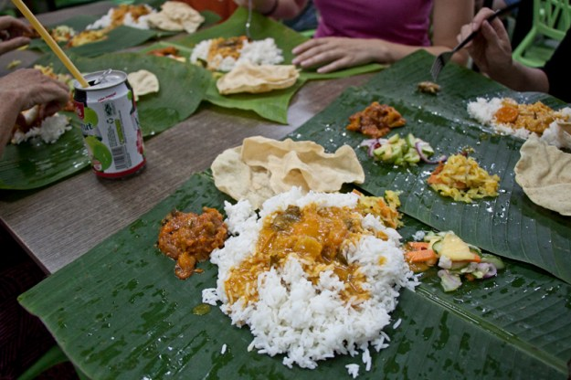 Vegan and Vegetarian Food Guide to Malacca - Selvam Banana Leaf Restaurant
