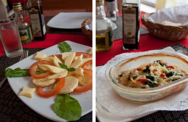 govinda vegan and vegetarian italian restaurant in bangkok, thailand