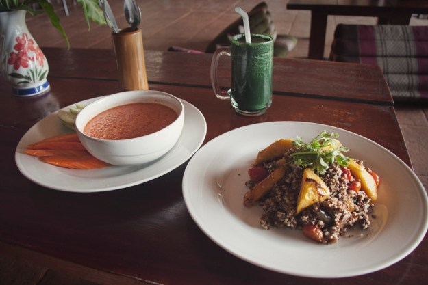 Vegan food guide of Koh Phangan, Thailand. The Sanctuary