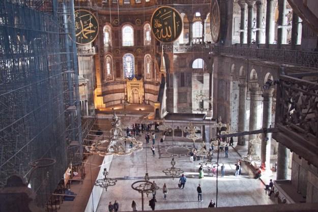 Hagia Sofia, Istabul, Turkey