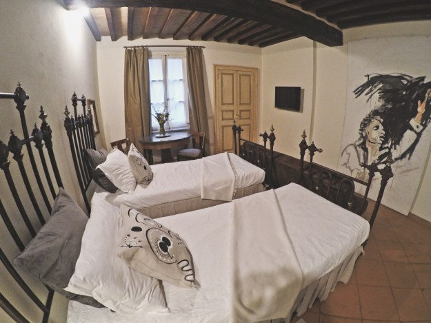 Al Battistero d'Oro, beautiful hotel Parma, Italy