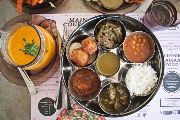 HRADLESTIN vegan vegetarian indian reykjavik
