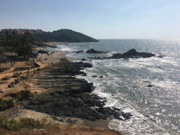 vagator beach north goa