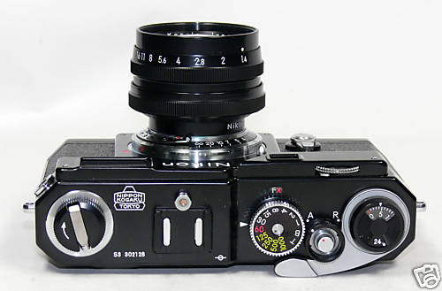 Nikon S3 Limited Edition Black