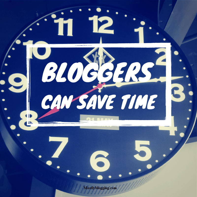 Time-saving blogging tips