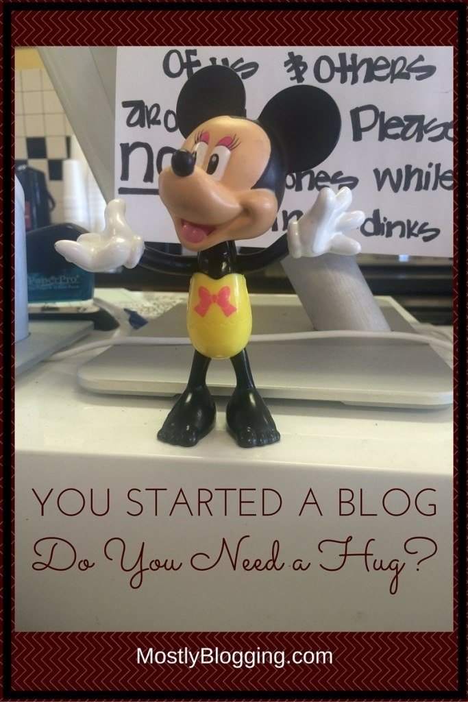 Bloggers face disappointment when blogging.