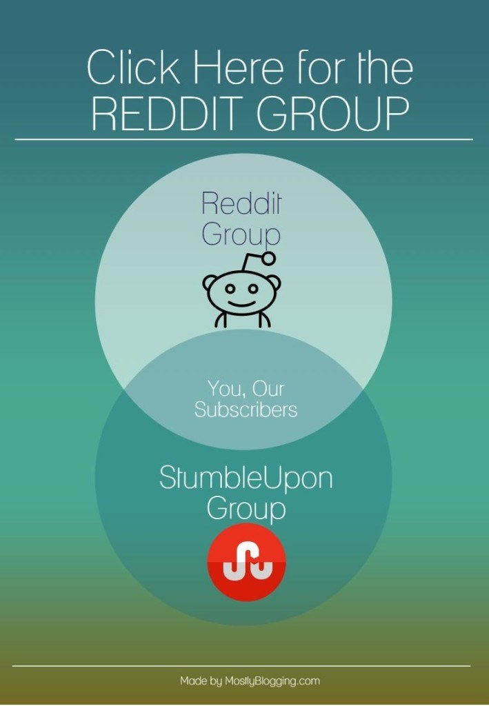Click the link to get blog traffic from #StumbleUpon and #Reddit.