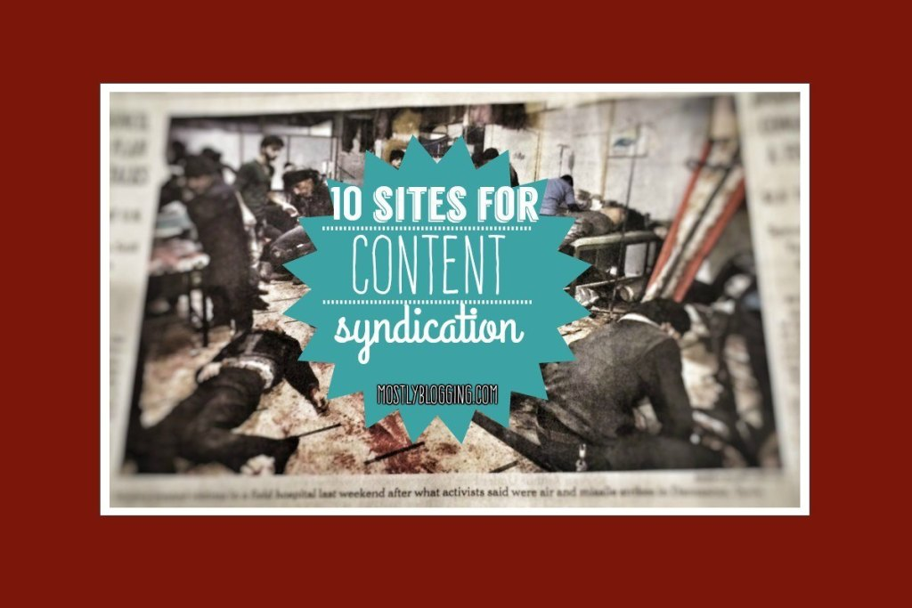 Content Syndication brings #bloggers traffic #blogging