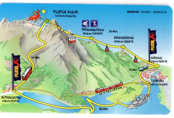 Image result for map of mount pilatus