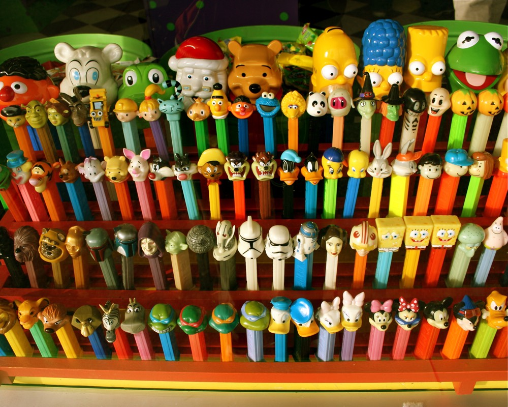 The international language of pez mostly lisa for International collection