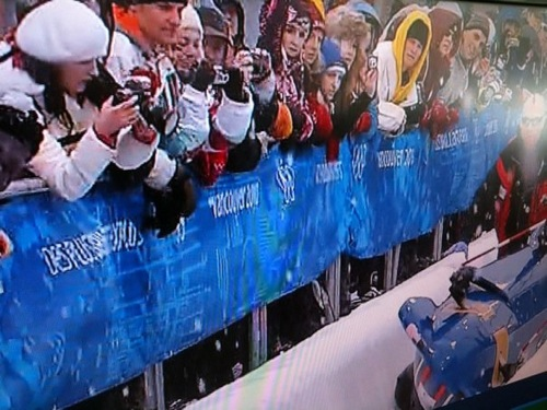 USA-2 Four Man Bobsled Crash at the Olympics