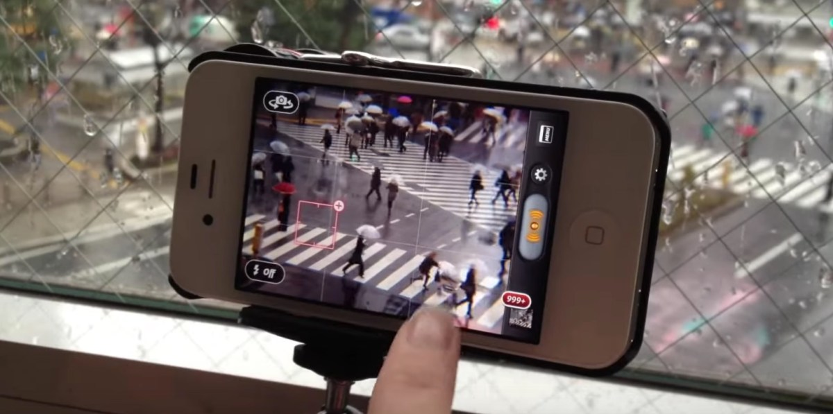 Around the World with an iPhone: Shibuya Crossing