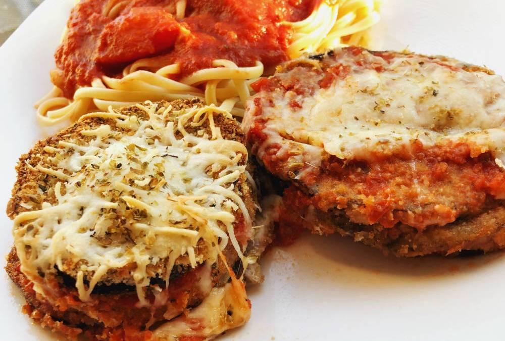 Eggplant Parmigiana – Baked Not Fried
