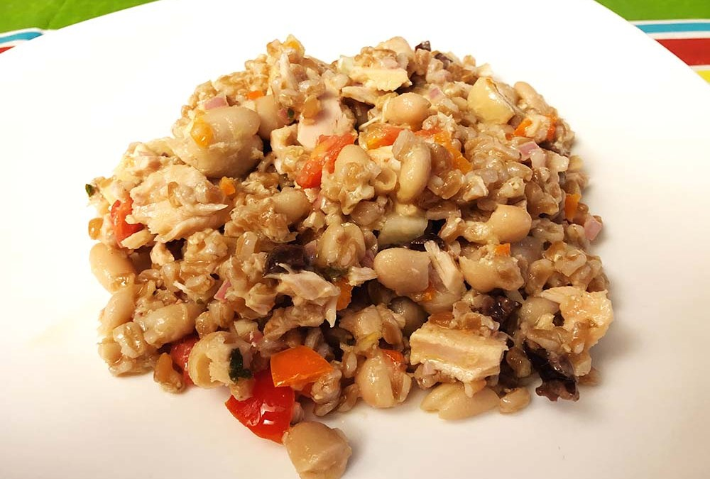 Farro Salad with Vegetables and Herbs