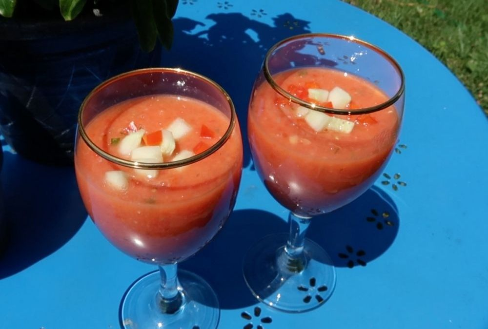 Gazpacho, a Cool Summer Soup