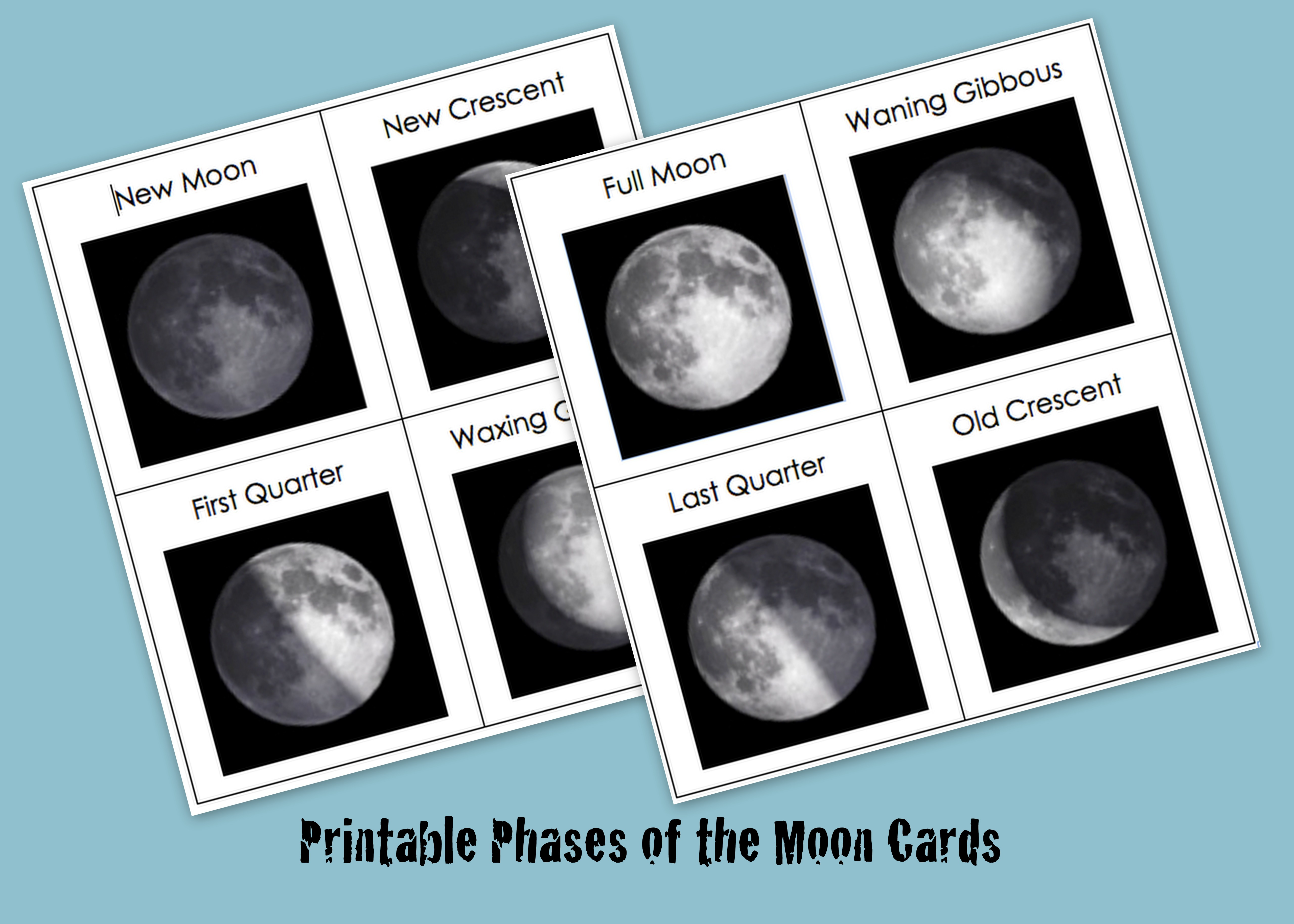 The Best Moon Phases Printable
