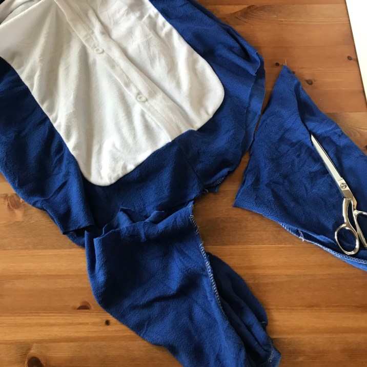 shark week dog costume1