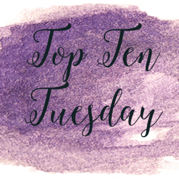 Top Ten Tuesday: Authors I've Read The Most Books From