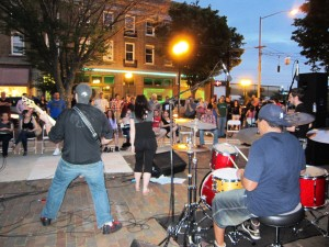 Rock out to local bands at the Live on Five stage in the Oregon District.