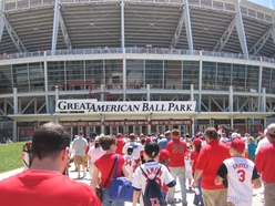 All these people heading to GABP just for a Mad Tree...